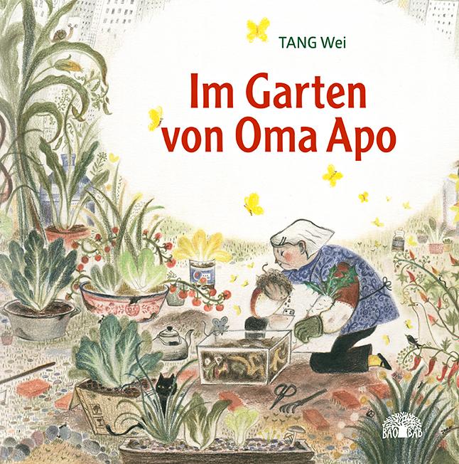 Buchcover: chinesisches Mädchen im Garten