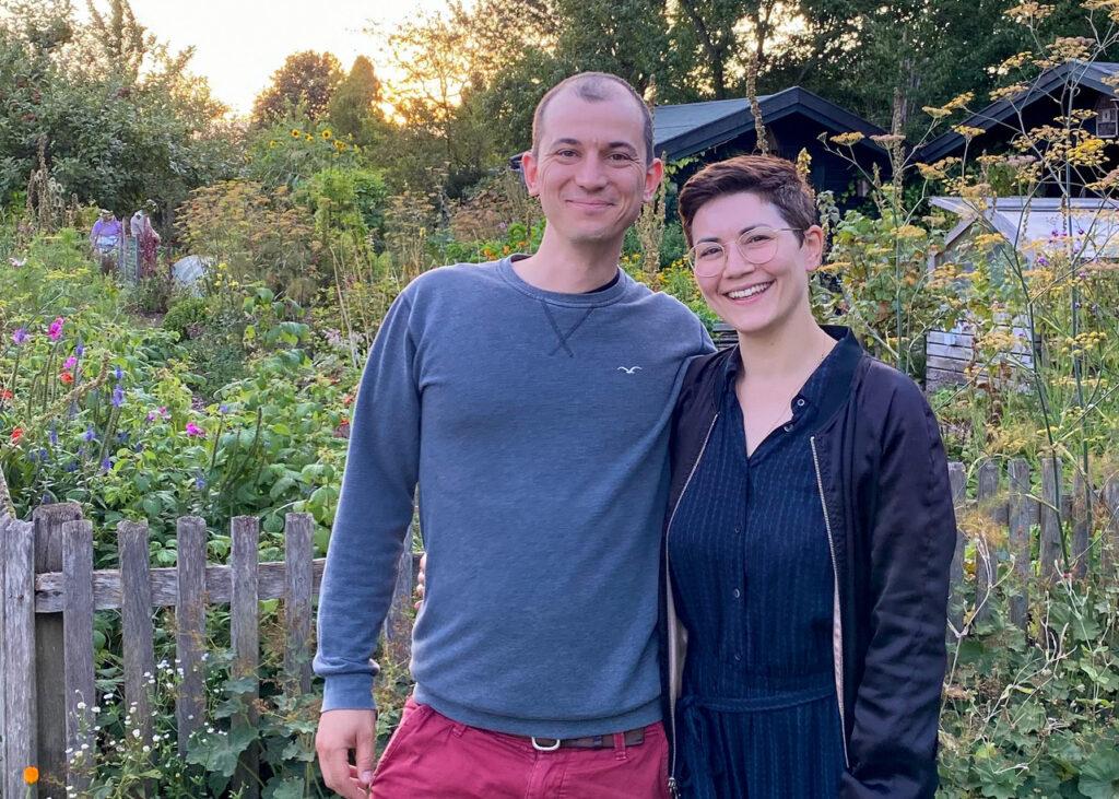 Deborah und Florian Hucht